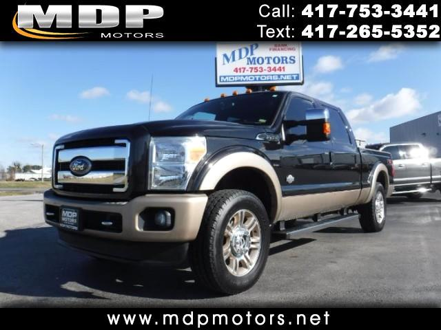 2011 Ford F-250 SD King Ranch 4WD Crew Cab SWB