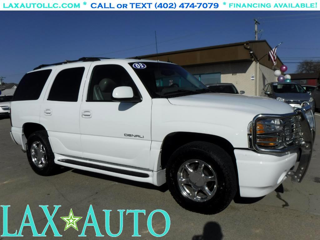 2003 GMC Yukon Denali AWD SUV * 3rd Row! Excellent Condition!