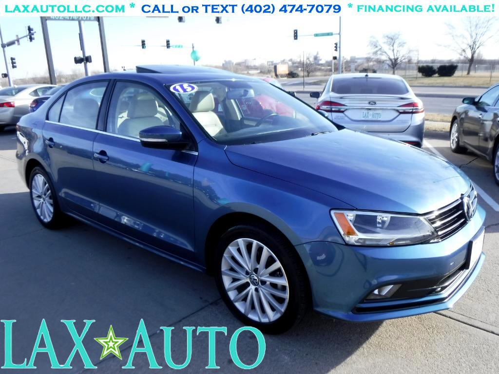 2015 Volkswagen Jetta 1.8T SE * Only 25k Miles! * Back-up Cam! Sunroof!