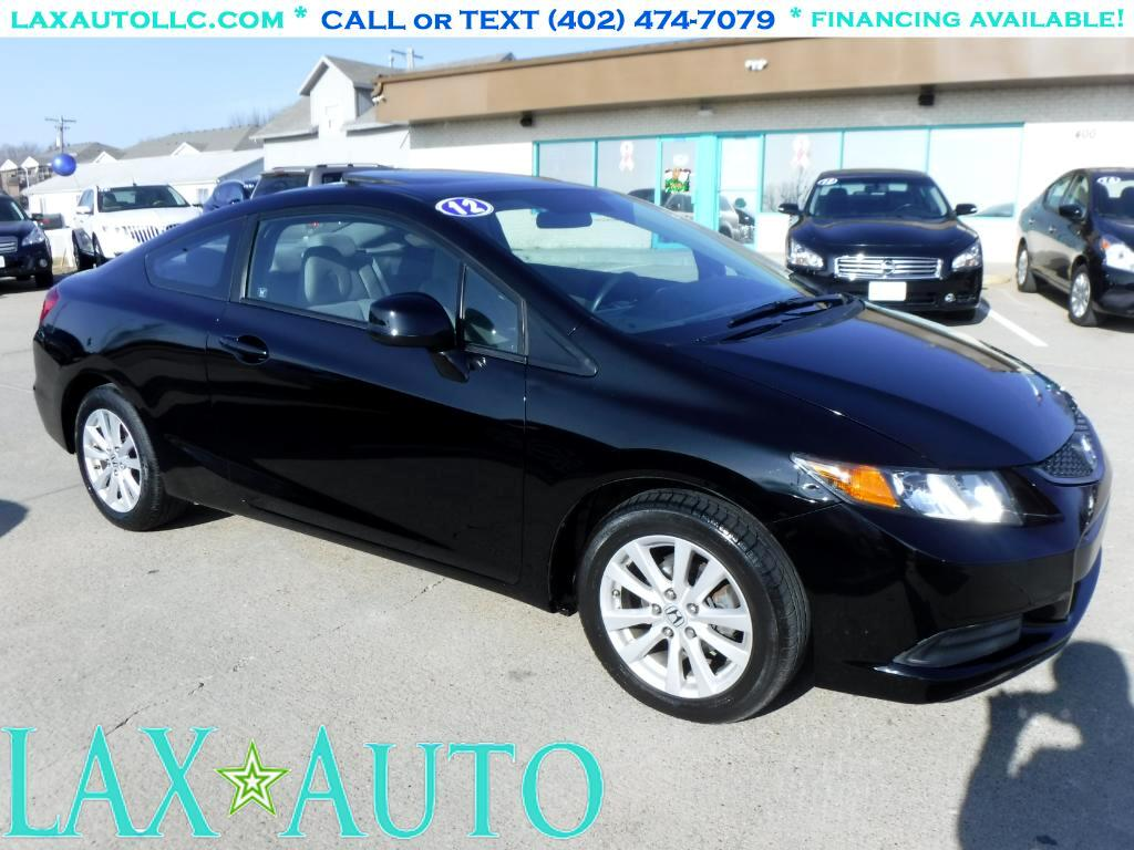 2012 Honda Civic EX Coupe * Only 46k miles! * Sunroof! *