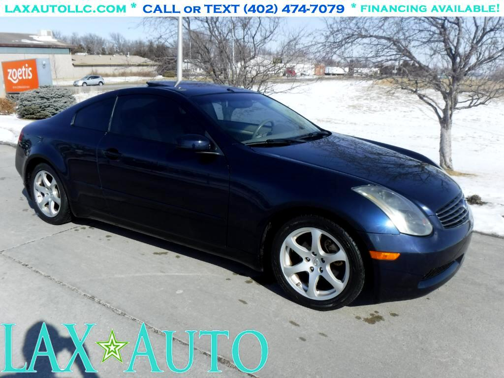 2004 Infiniti G35 G-Coupe * Only 67k miles! Extra Clean!