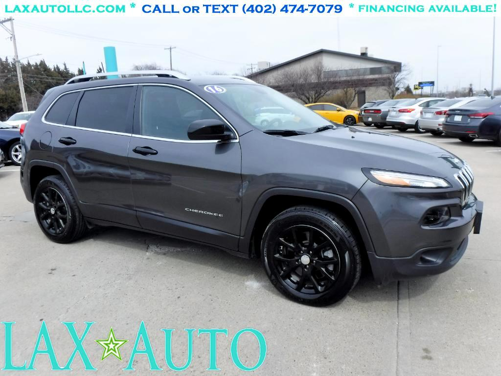 2016 Jeep Cherokee Latitude SUV * Only 16k miles! Back-up cam! *Gray*