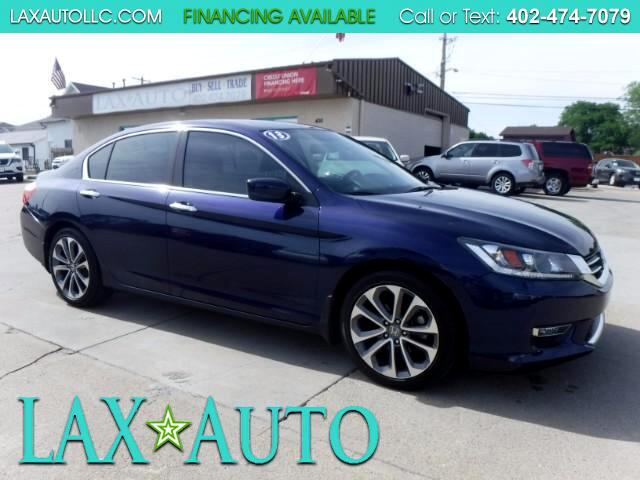 2013 Honda Accord Sport * Back-up Cam! ONLY 28K MILES!!