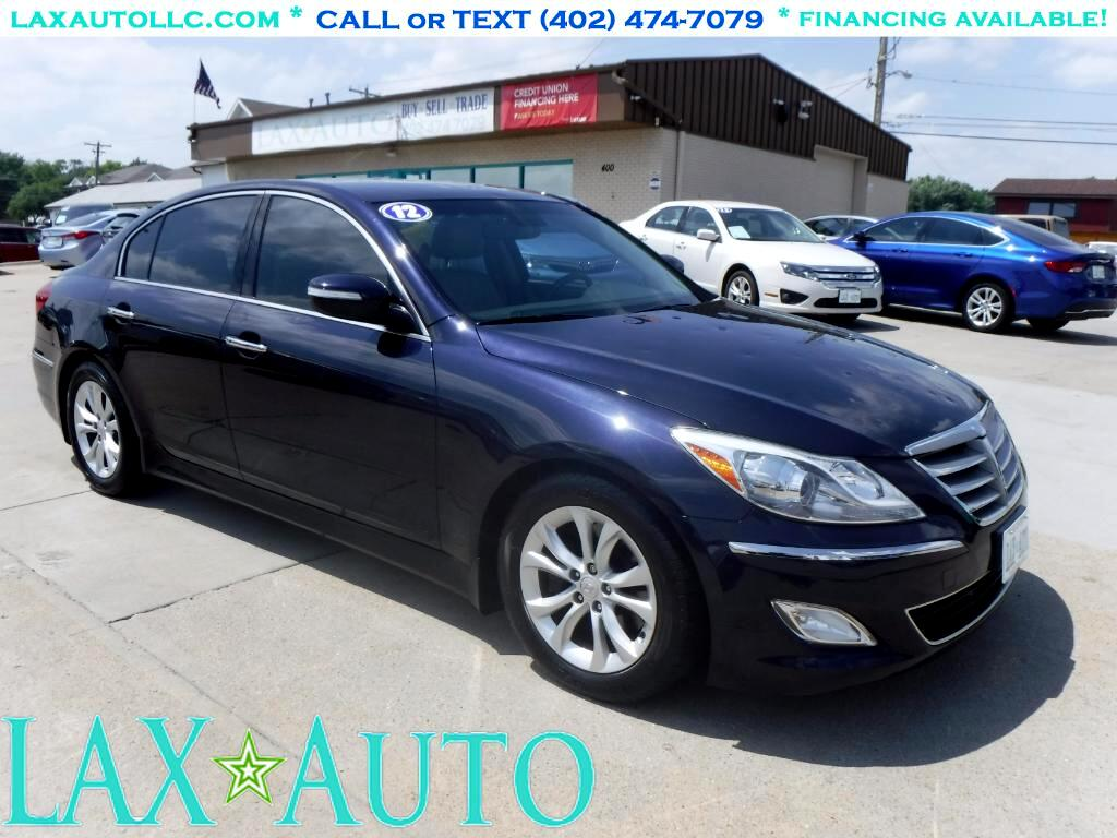 2012 Hyundai Genesis 3.8L Luxury Sedan * 61k Miles *