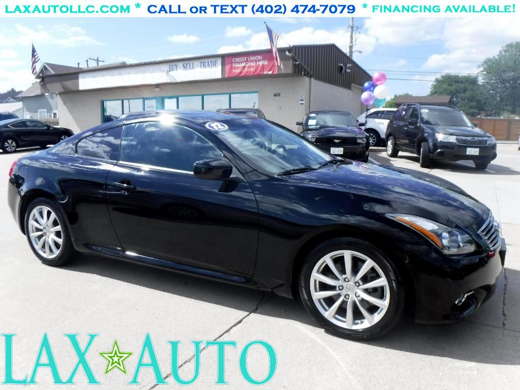 2012 Infiniti G Coupe G37 Journey * Sport Pkg! * Only 41k miles!