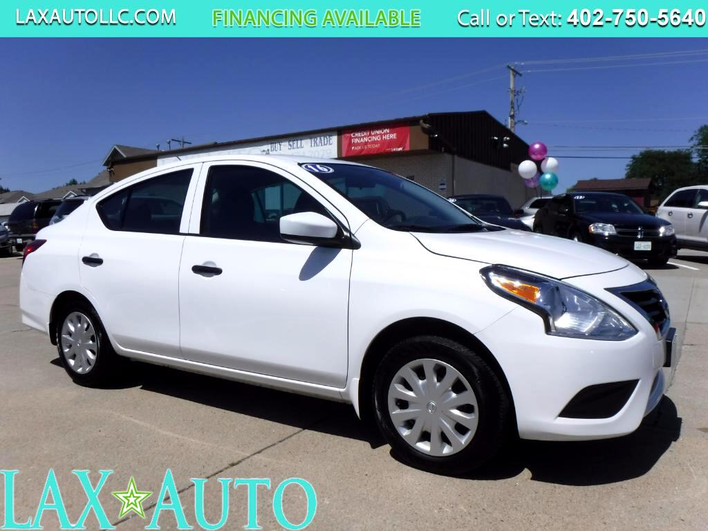 2016 Nissan Versa S Sedan * 5-speed manual * Only 11k Miles! * White