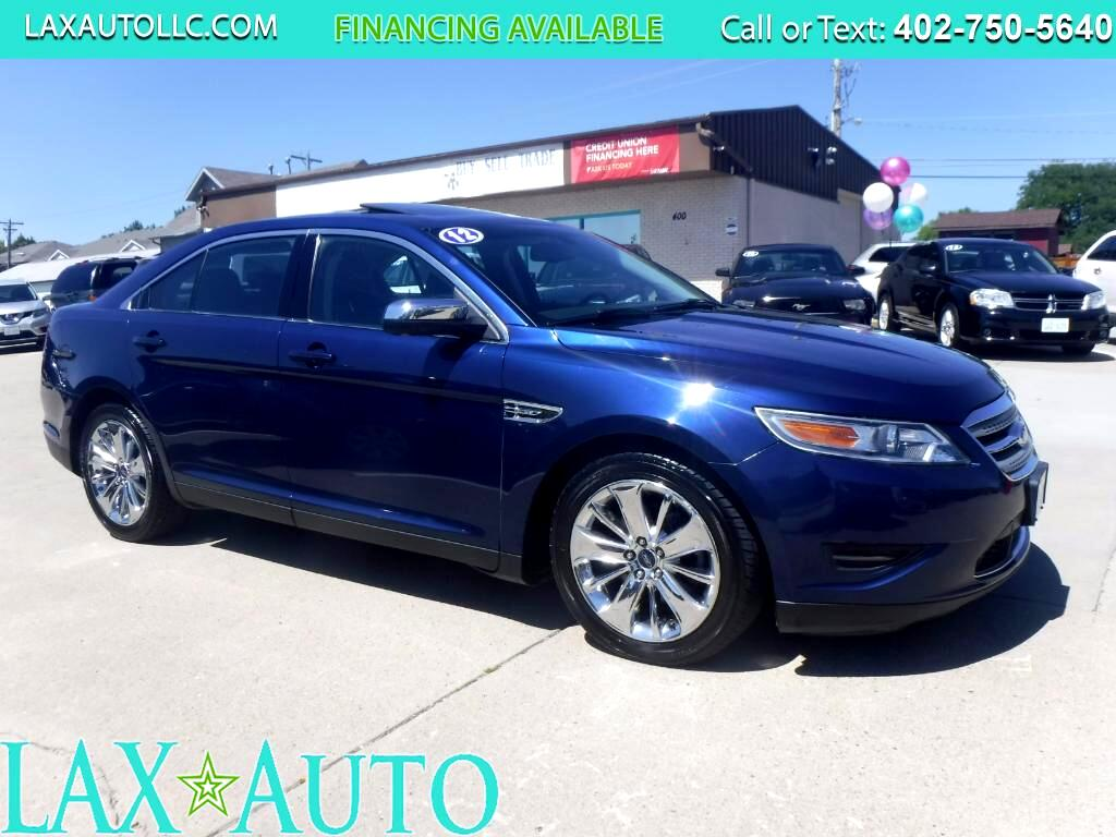 2012 Ford Taurus Limited FWD * 99k Miles * Back-up Cam! * Sunroof!
