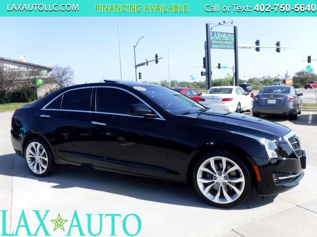 2015 Cadillac ATS 2.0T Luxury * 30k Miles * Sunroof! * Back-up Cam!