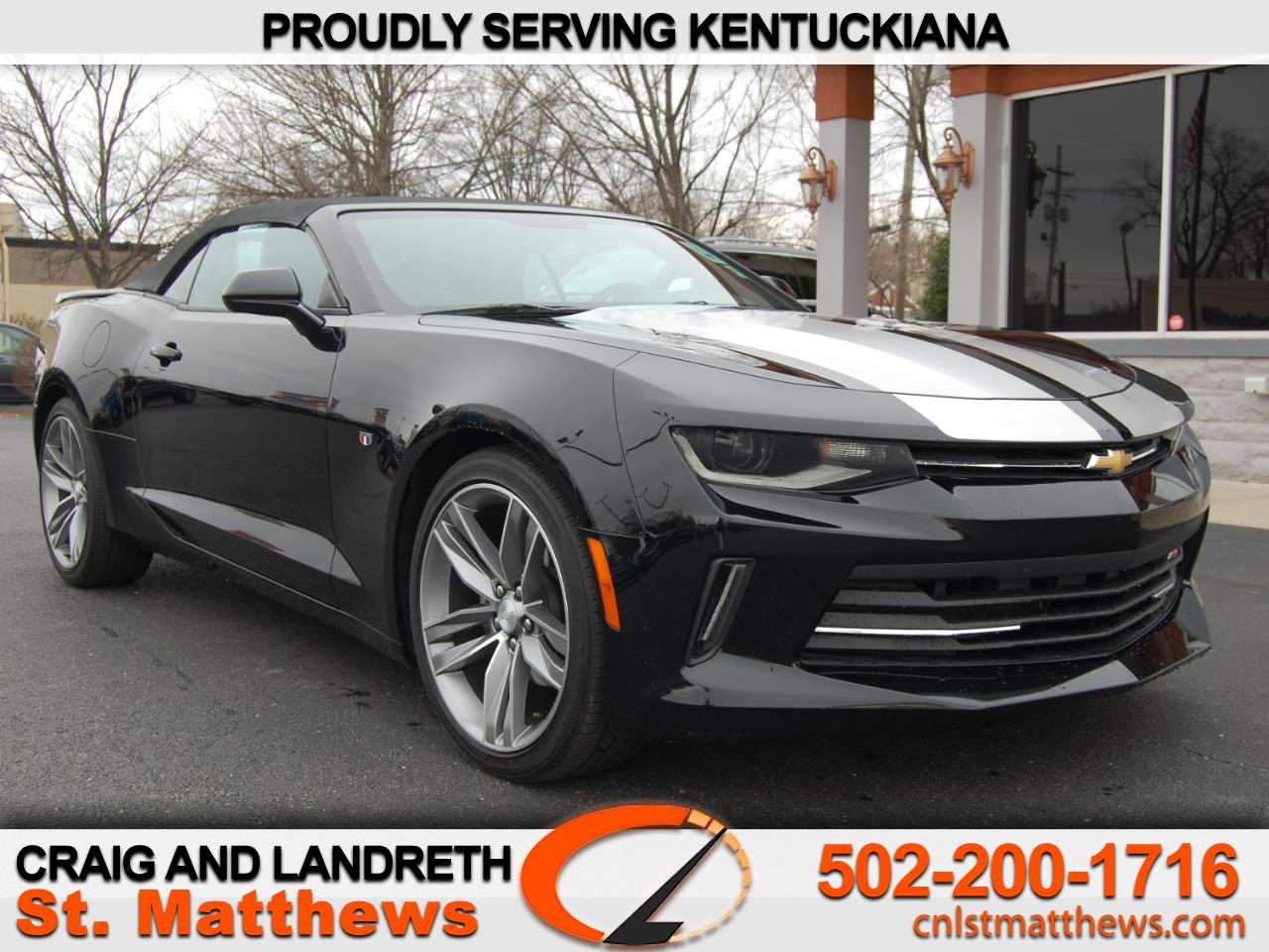 Pre-Owned 2018 Chevrolet Camaro 1LT Convertible