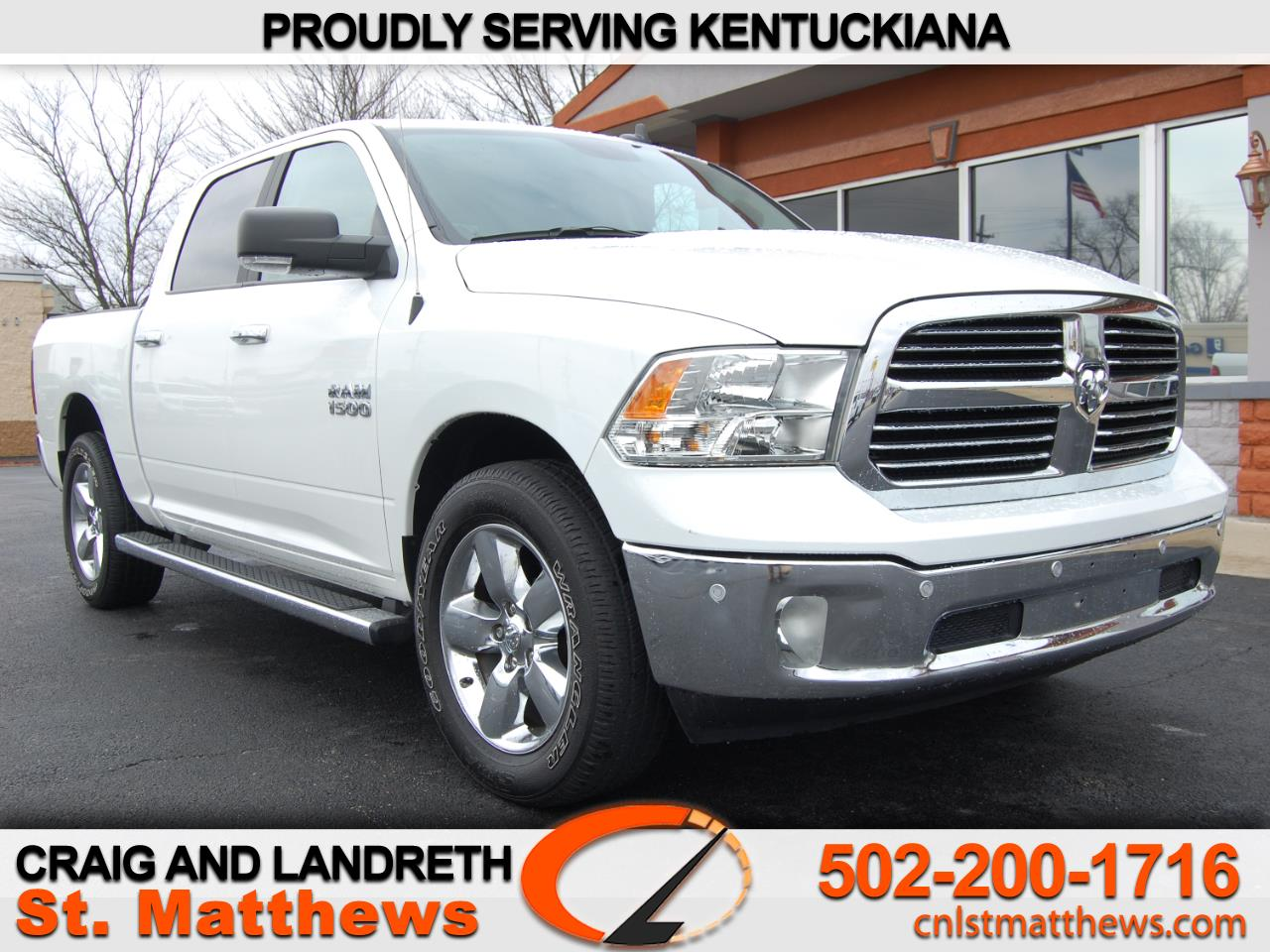 Pre-Owned 2018 RAM 1500 Big Horn 4x4 Crew Cab 5 ft7 in Box