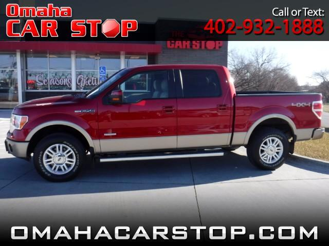 2012 Ford F-150 Lariat 4WD SuperCrew 5.5' Box