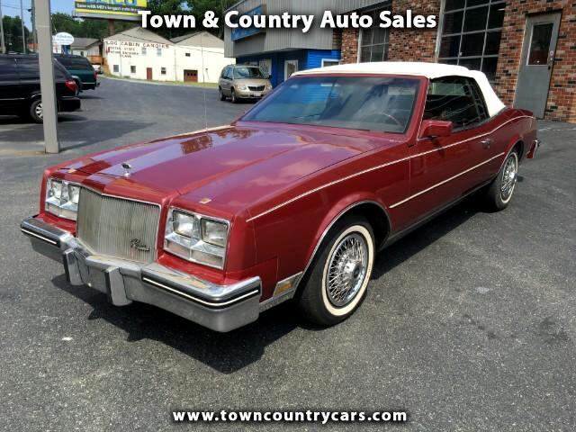 1984 Buick Riviera Convertible