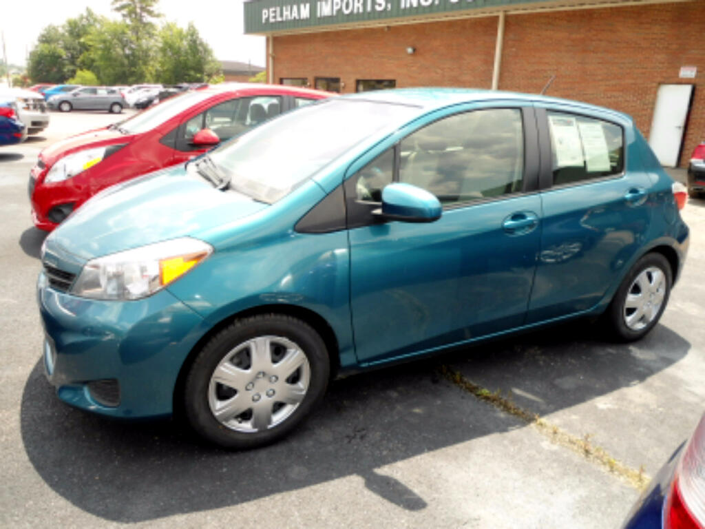 2014 Toyota Yaris 4 DOOR HATCHBAK