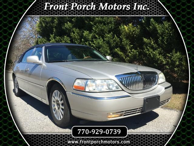 2003 Lincoln Town Car Cartier