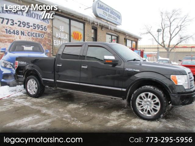 2010 Ford F-150 Platinum 4WD SuperCrew 5.5' Box