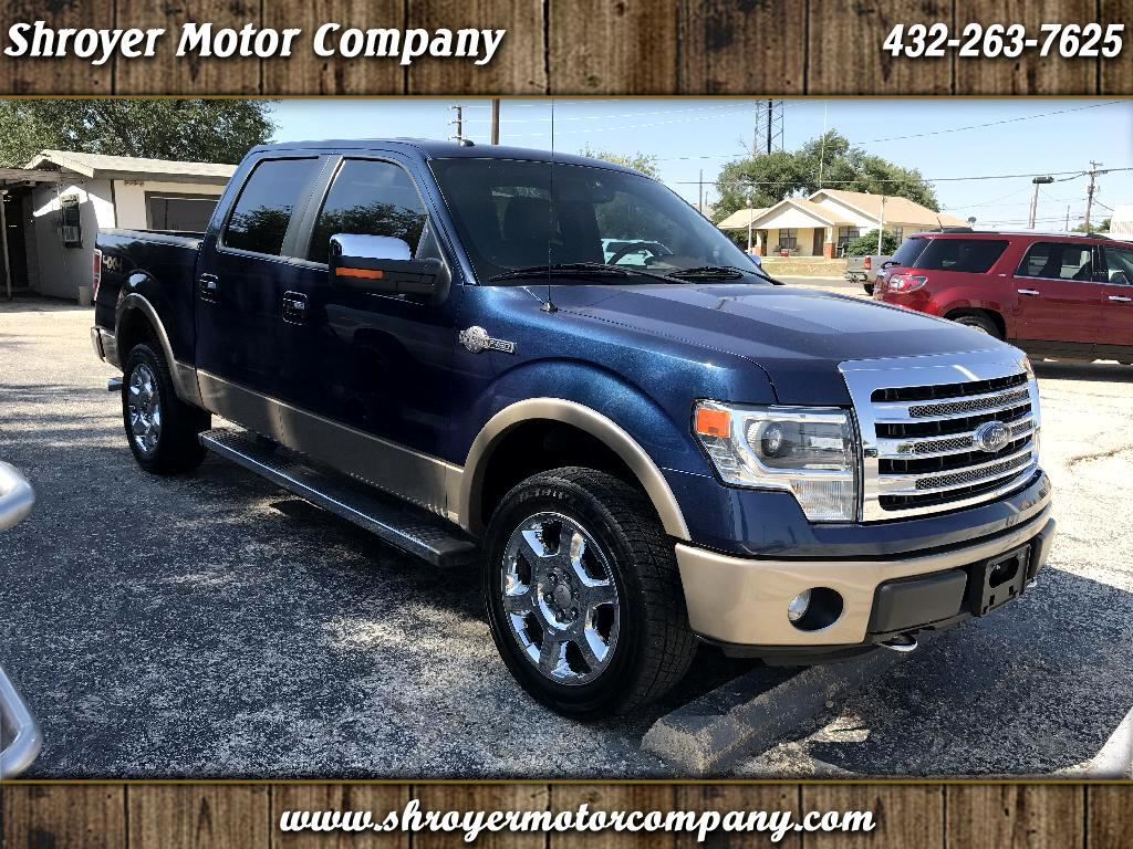"""2013 Ford F-150 4WD SuperCrew 150"""" King Ranch"""