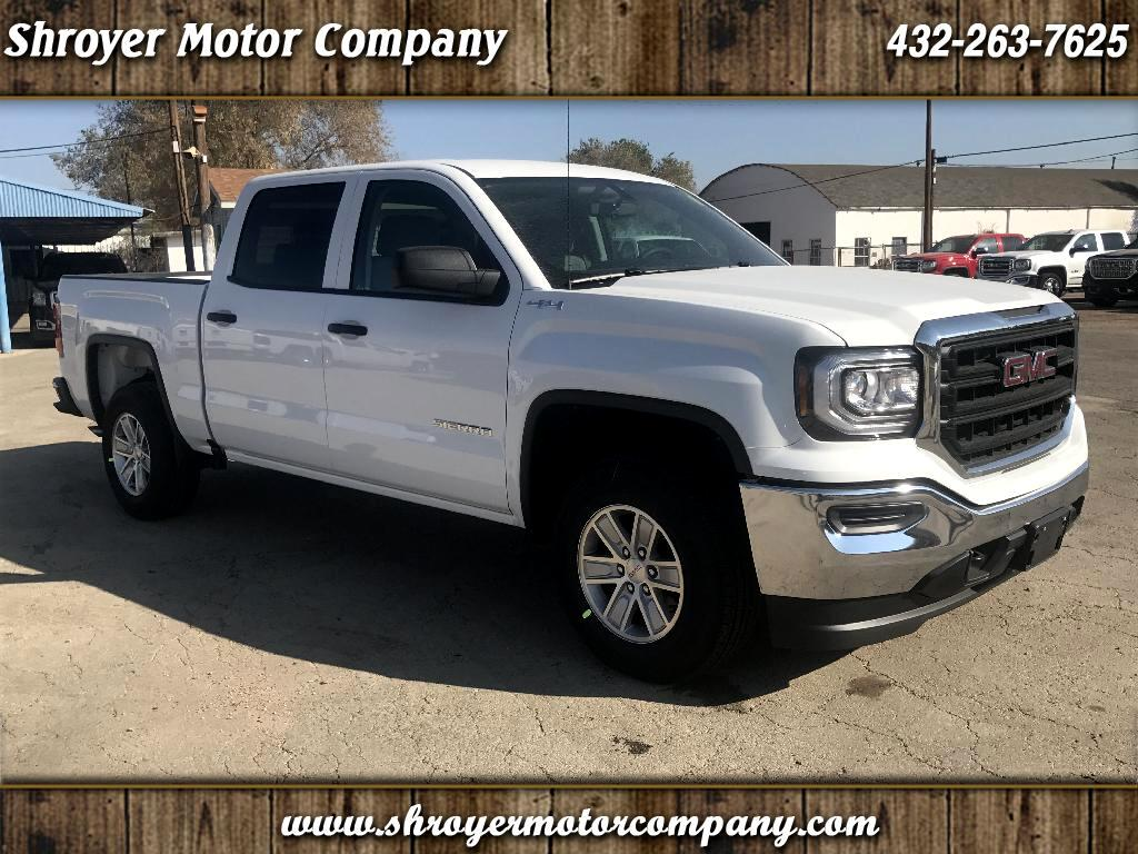 2018 GMC Sierra 1500 Base Crew Cab Short Box 4WD