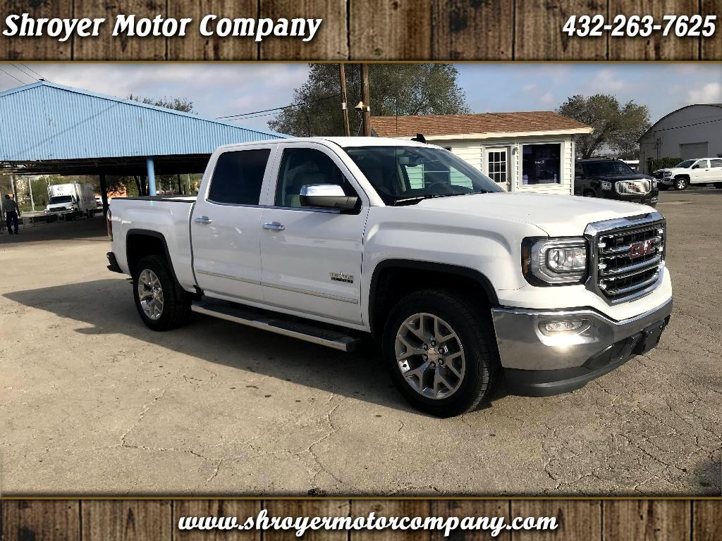2018 GMC Sierra 1500 SLT Crew Cab Long Box 2WD