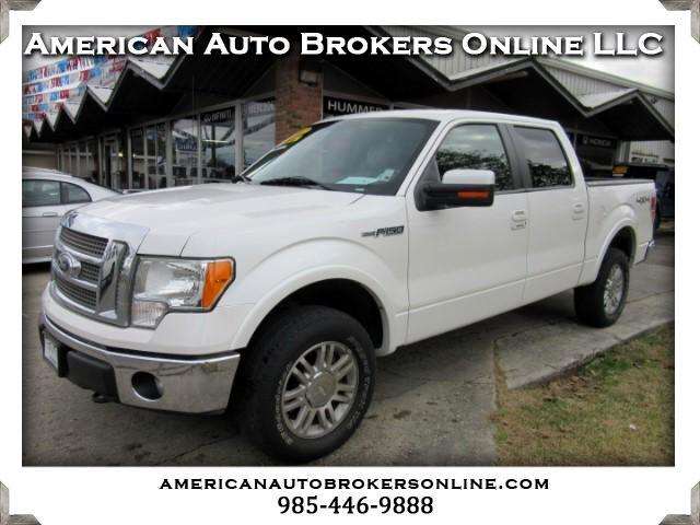 2012 Ford F-150 LARIAT SUPERCREW 4WD CLEAN AUTO CHECK ONE OWNER!!!