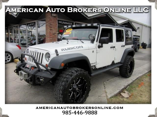 2009 Jeep Wrangler UNLIMITED RUBICON 4WD RIMS TIRES MANY EXTRAS!!!