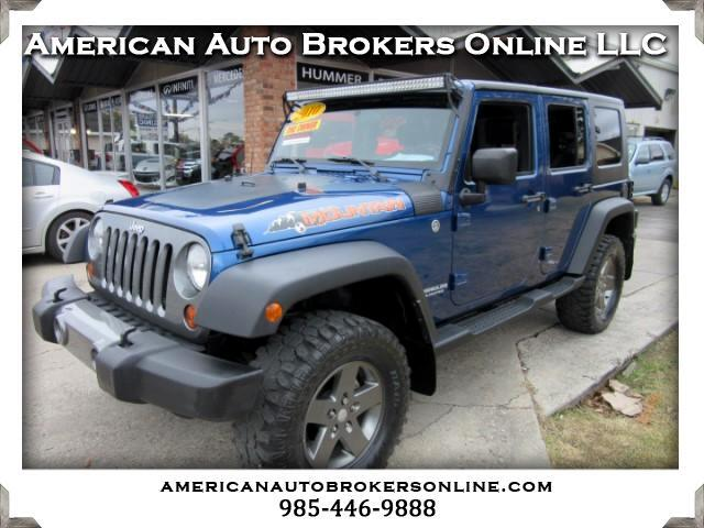 2010 Jeep Wrangler UNLIMITED SPORT 4WD ONLY 46K MILES CLEAN!!!