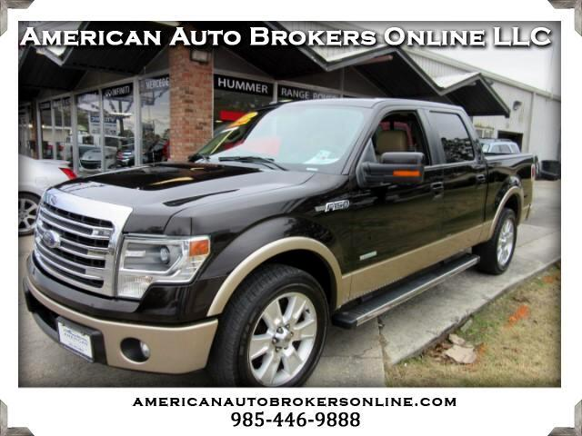 2013 Ford F-150 LARIAT SUPERCREW LEATHER ONE OWNER!!!