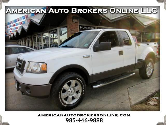 2006 Ford F-150 FX4 SUPERCAB FLARESIDE 4WD V8 CLEAN AUTO CHECK!!!