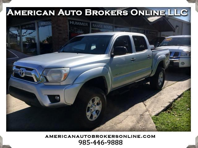 2012 Toyota Tacoma TRD Off Road Double Cab 5' Bed V6 4x4 AT (Natl)