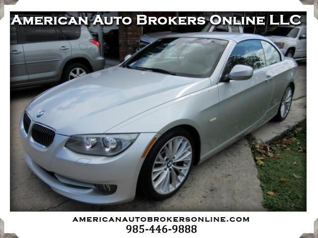 2011 BMW 3-Series 335i CONVERTIBLE HARD TOP SPORT PACKAGE