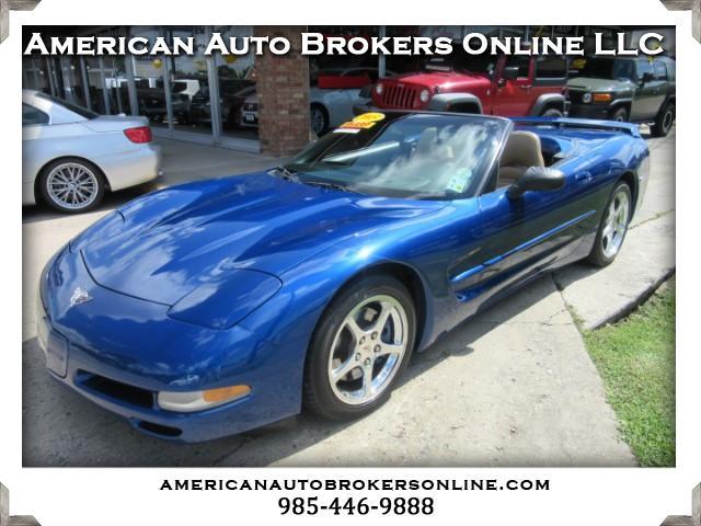 2003 Chevrolet Corvette ELECTRON BLUE LEATHER 50TH ANNIVERSITY CONVERTIBLE
