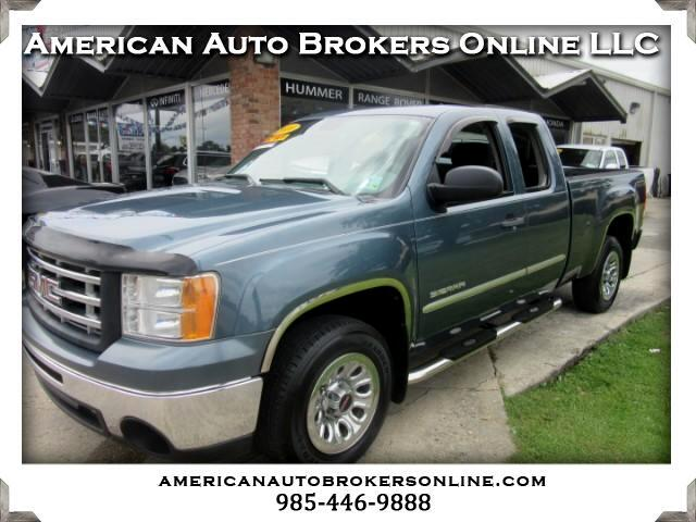 2010 GMC Sierra 1500 EXTENDED CAB 2WD
