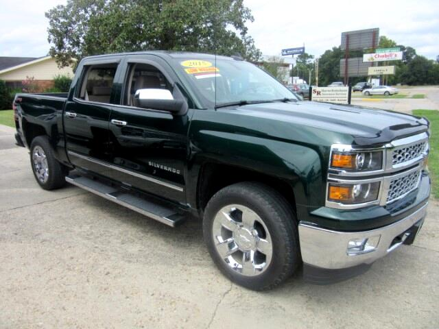 2015 Chevrolet Silverado 1500 Rainforest Green LTZ Crew Cab 4WD