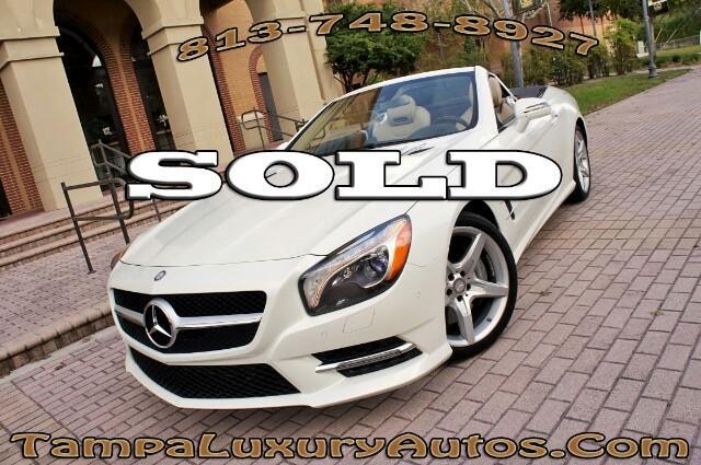 2013 Mercedes-Benz SL Class SL550