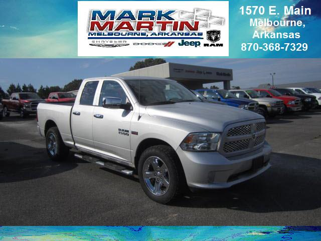 2014 RAM 1500 4x2 Express 4dr Quad Cab 6.3 ft. SB Pickup