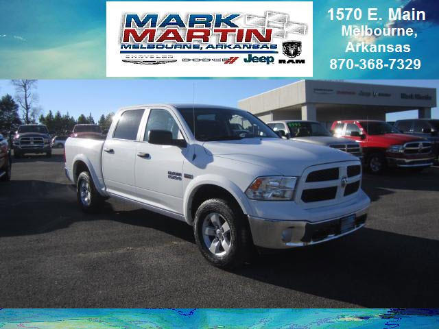 2016 RAM 1500 4x4 Outdoorsman 4dr Crew Cab 5.5 ft. SB Pickup