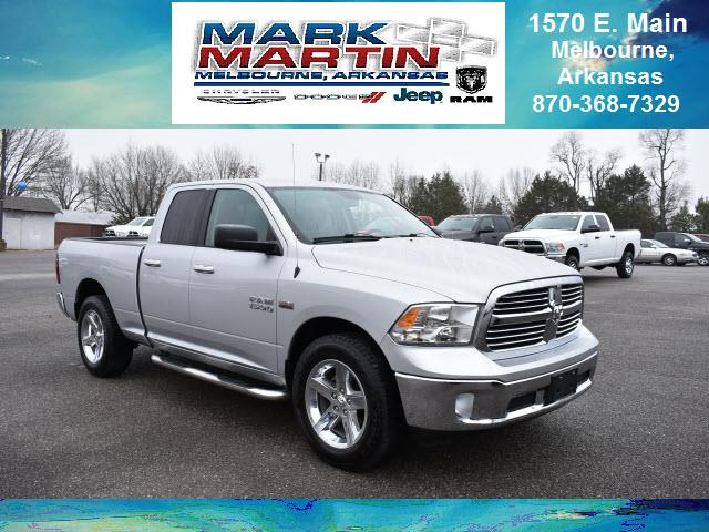 2014 RAM 1500 4x4 Big Horn 4dr Quad Cab 6.3 ft. SB Pickup