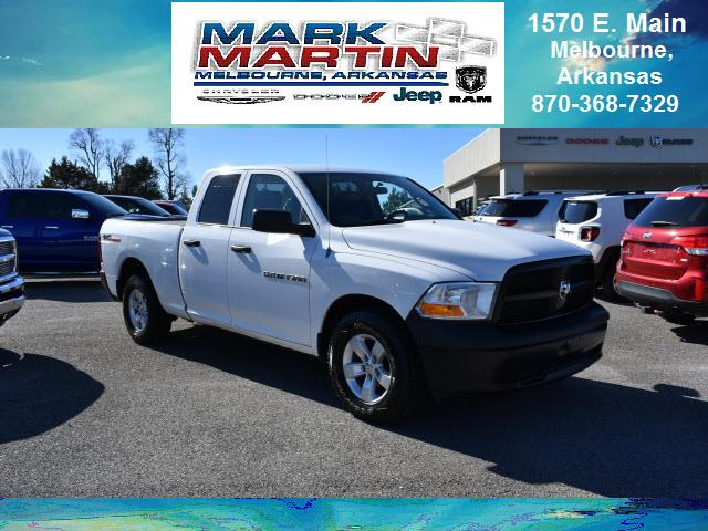 2012 RAM 1500 4x4 ST 4dr Quad Cab 6.3 ft. SB Pickup