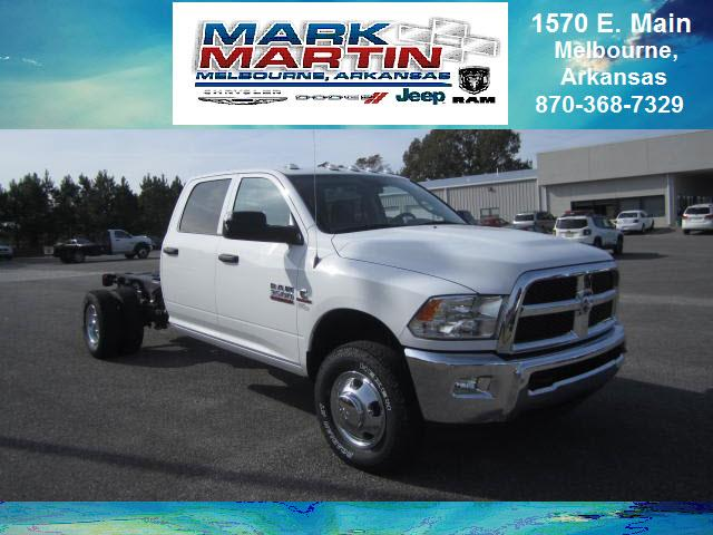 2017 RAM 3500 4x4 Tradesman 4dr Crew Cab 172.4 in. WB Chassis