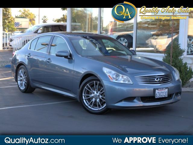2007 Infiniti G35 Sport Sedan with Leather