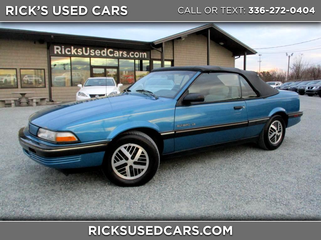 1991 Pontiac Sunbird LE convertible