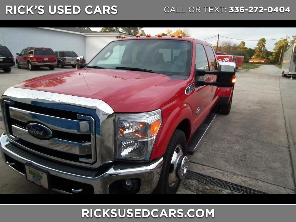 2015 Ford F-350 SD King Ranch Crew Cab Long Bed DRW 2WD