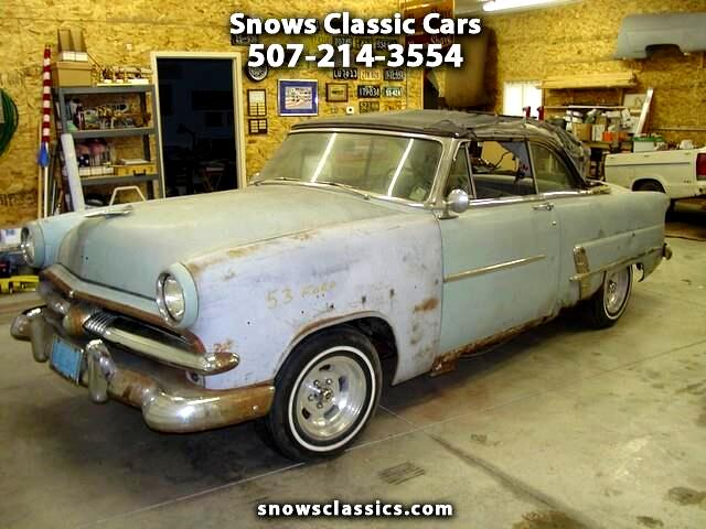 1953 Ford Convertible Base