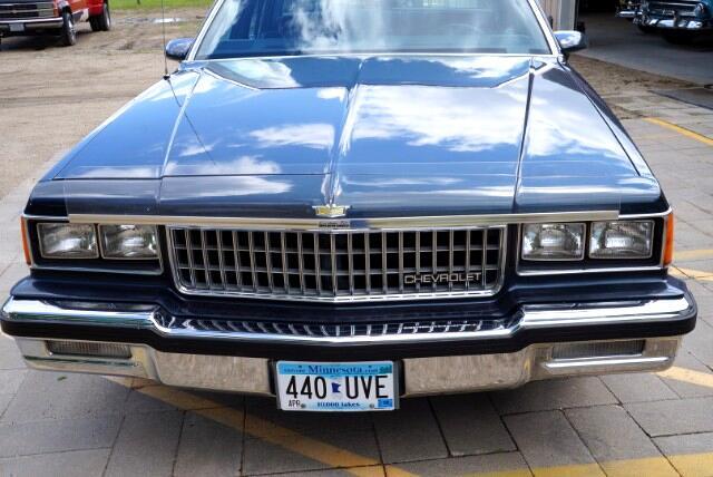 1986 Chevrolet Caprice Classic Sedan
