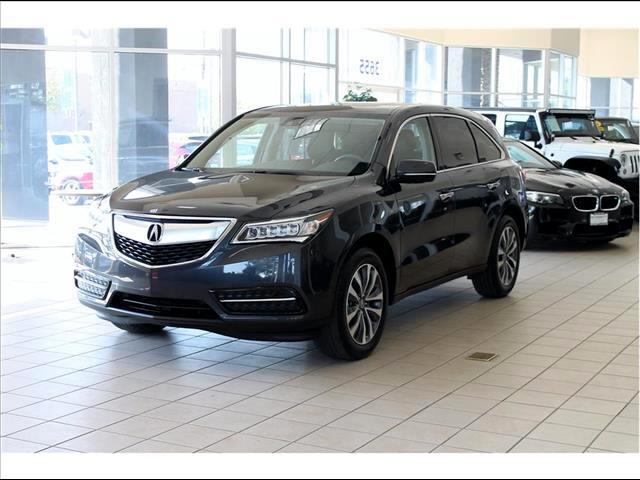 2015 Acura MDX 6-Spd AT w/Tech and Entertainment Package