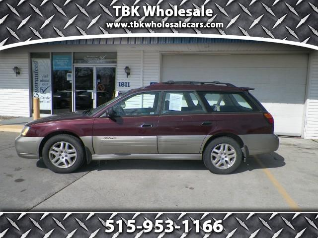 2001 Subaru Outback Wagon w/ All-weather Package