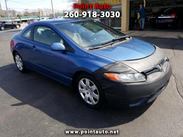 2007 Honda Civic 2dr Cpe EX Auto w/Side Airbags