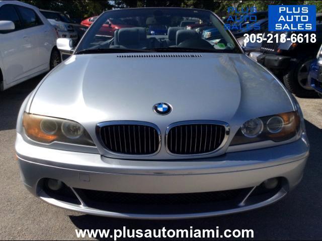 2004 BMW 3-Series 325Ci convertible
