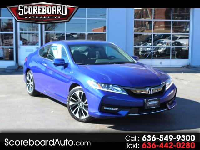 2016 Honda Accord EX-L V-6 Coupe w/Navigation and Honda Sensing 6A