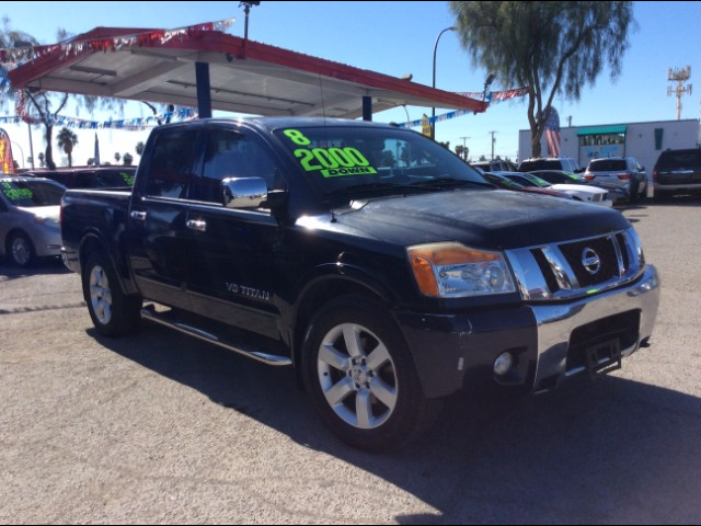 Used Cars in Las Vegas 2008 Nissan Titan