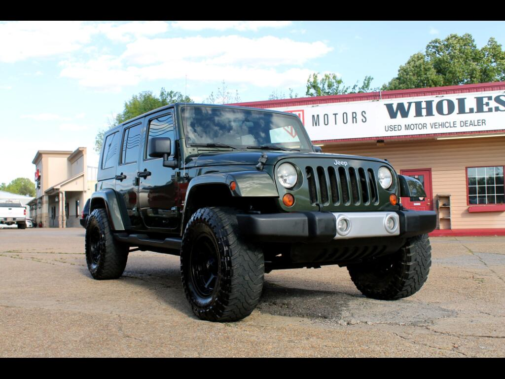 2008 Jeep Wrangler RWD 4dr Unlimited Sahara